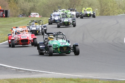 Nothing better than leading down Cascades. Oulton is one of my favourite circuits.